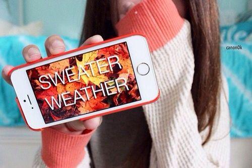 Sweater weather... YAAAS BOO