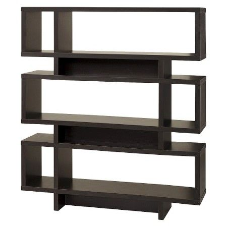Monarch Specialties Modern Bookcase - Coffee