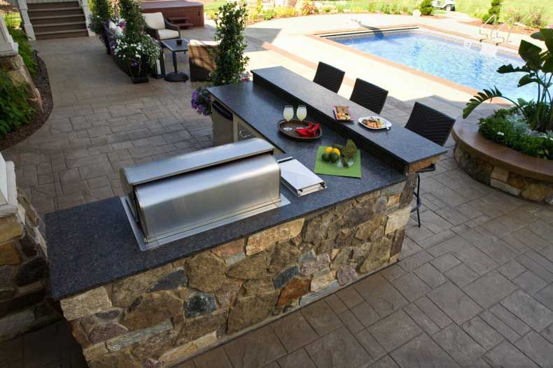 L Shaped Outdoor Kitchen Google Search Outdoor Remodel Outdoor Kitchen Design Outdoor Kitchen Design Layout