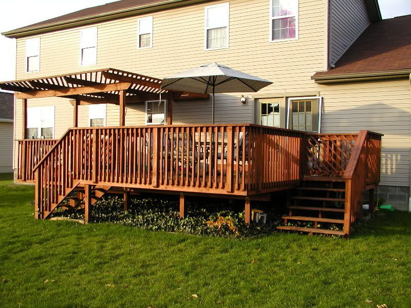 Deck: With Catty Corner Steps | For The Home | Pinterest | Decks, Stairs  And Decking