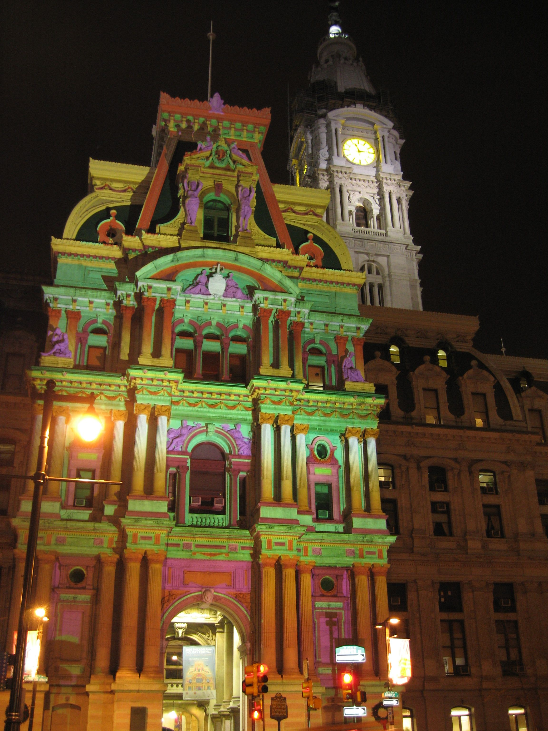 city hall in philadelphia at christmastime thoughts to live by