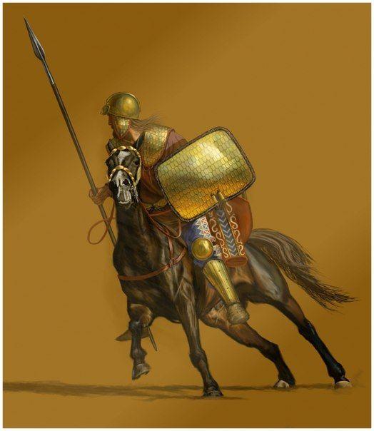 Skif Vsadnik Scythian Warrior Warriors Illustration Historical Warriors Ancient Warfare