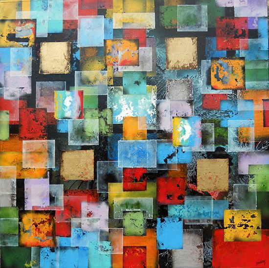 The Audacious Abstract Experiments of Joan Llaverias   ArtCorner