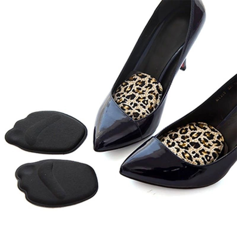Women Sponge Forefoot Front Pads High Heels Front Toe Insoles Cushion Pad