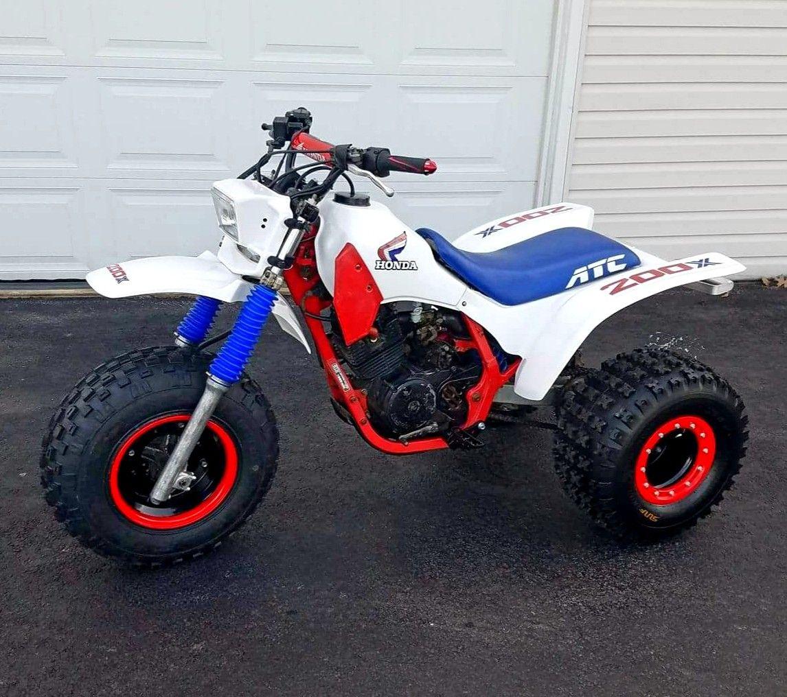 Custom 1986 Honda Atc200x Honda Trike Adventure Bike Trike