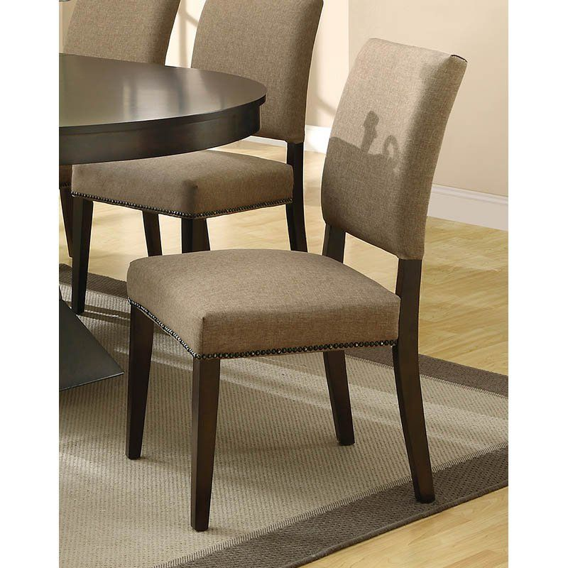 coaster furniture myrtle high back dining side chair set of 2 in rh pinterest com