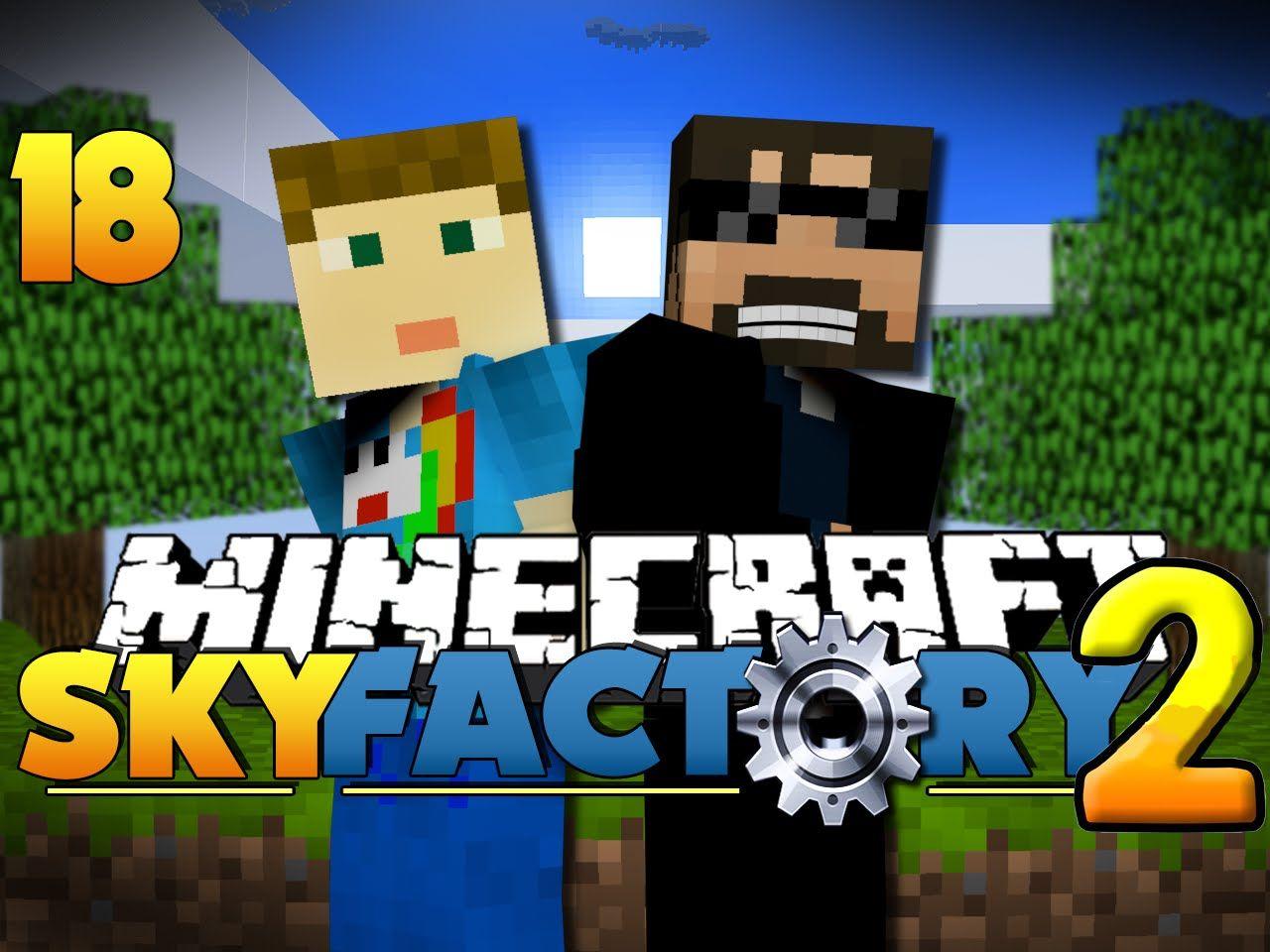 Minecraft SkyFactory 2 - MAGICAL EXPLOITS?![18]   SSundee