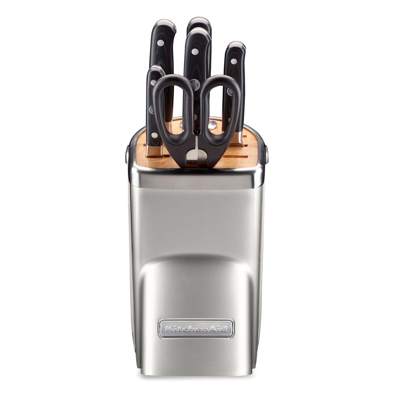 Kitchenaid 7pc triple rivet cutlery set triple pc