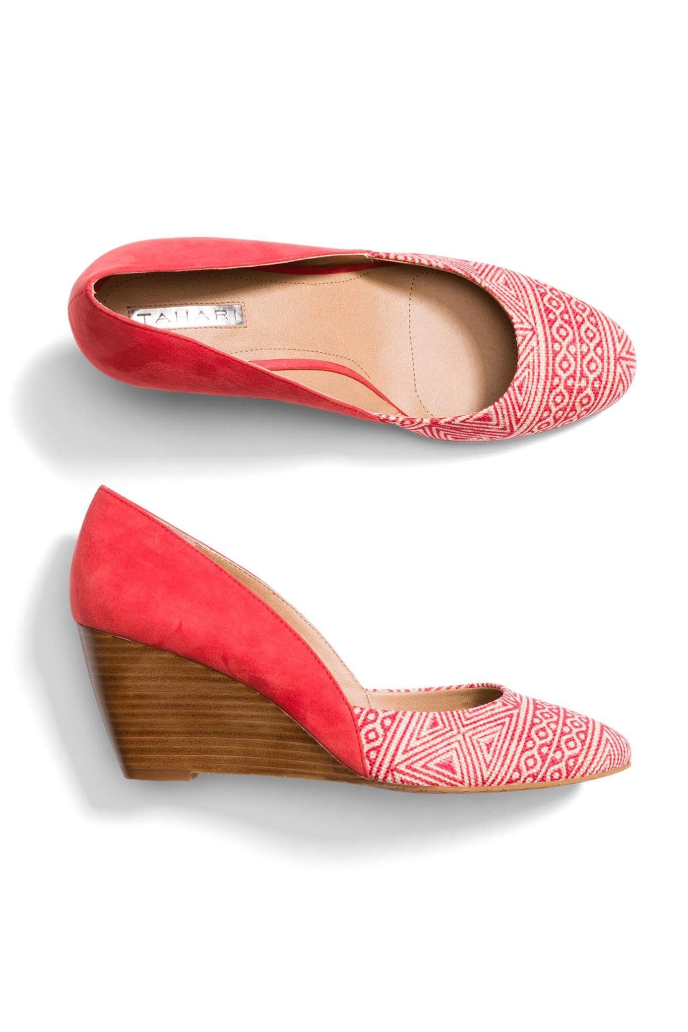 260b19b5876a Tahari Red Wedge Shoes - Stitch Fix Style Quiz