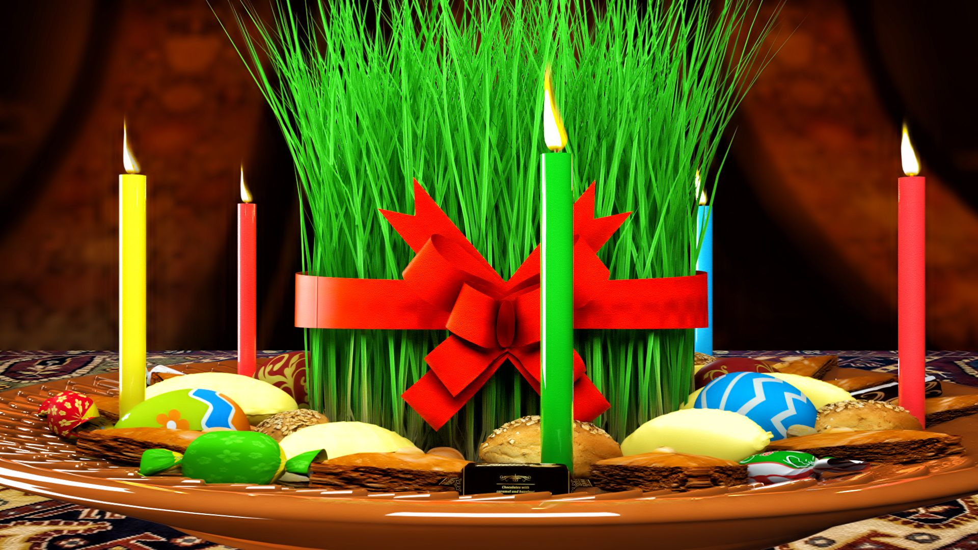 3d Novruz Semeni Pack Baby Birthday Cakes Holiday Pictures Christmas Drinks