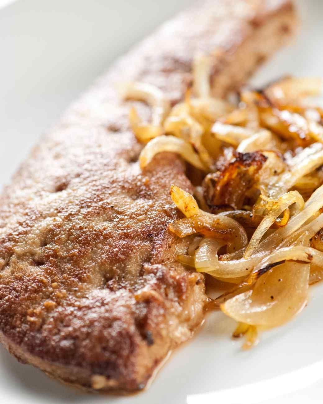 Sauteed Calf's Liver Recipe Cooking Ideas & Recipes