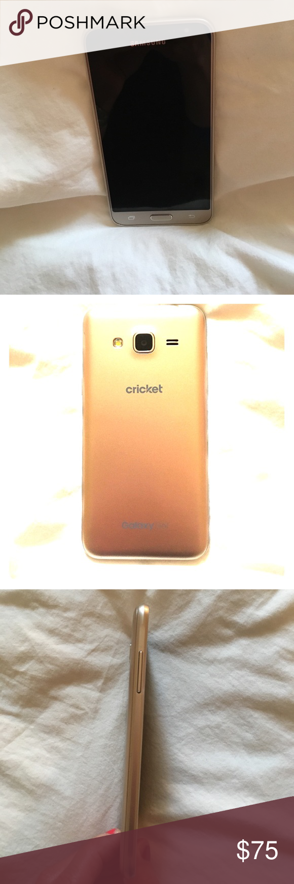 Samsung Galaxy Sol Cricket Wireless Phone Used For 1 Year Had A Case On During The Entire Year So Screen And Back Have Very Cricket Wireless Wireless Galaxy