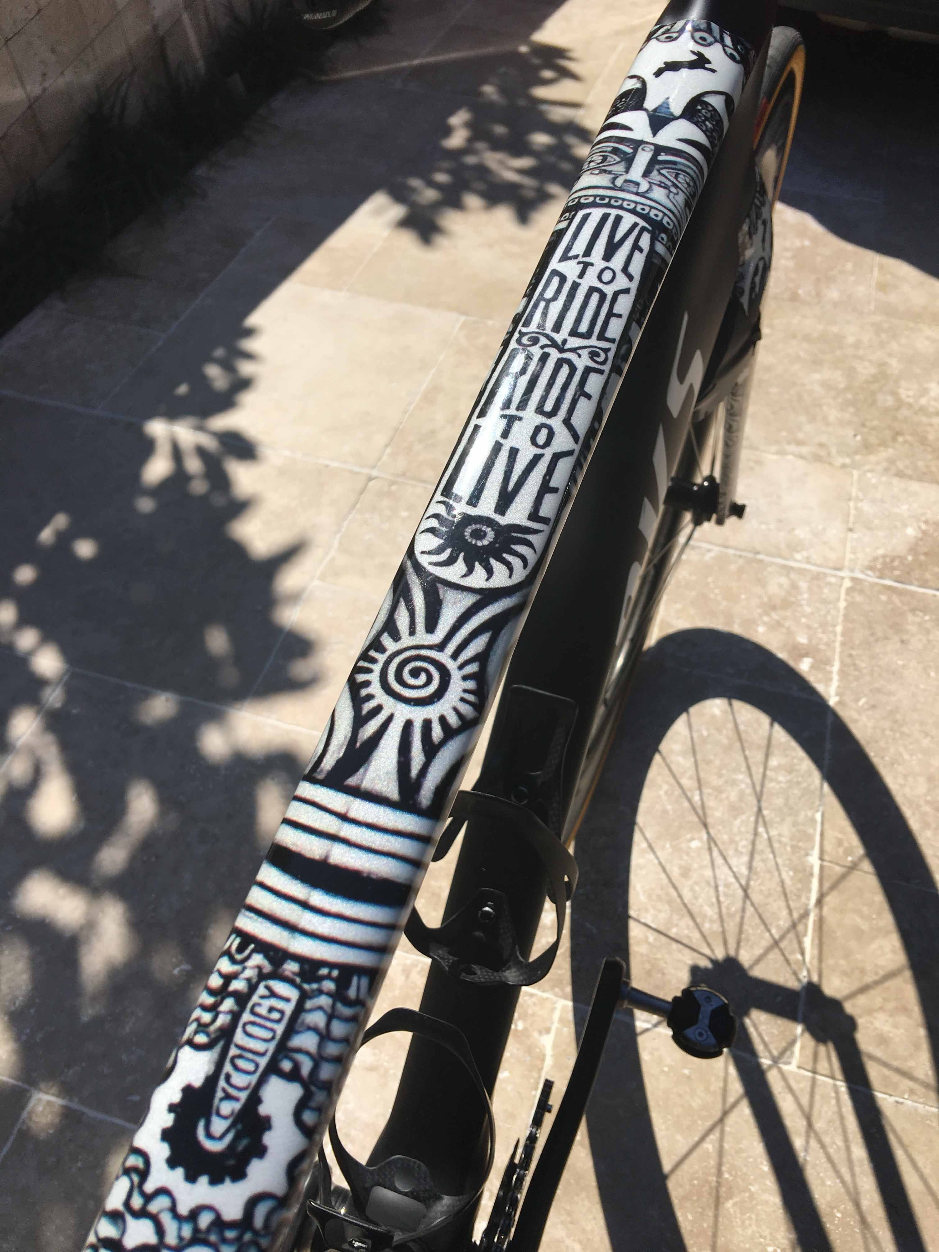 Graffiti Bicycle Frames