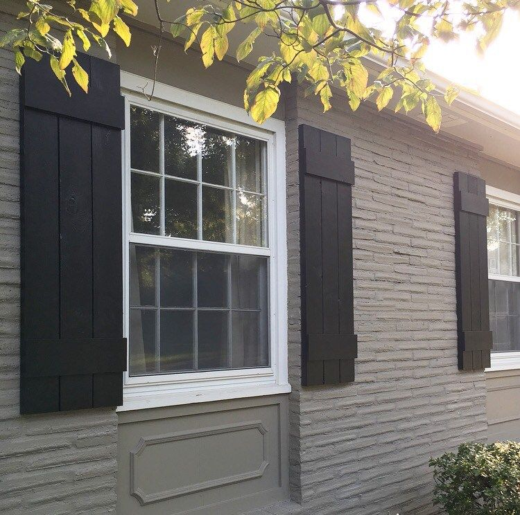 How To: Hide the Cable Box | Outdoor shutters, DIY Exterior and ...