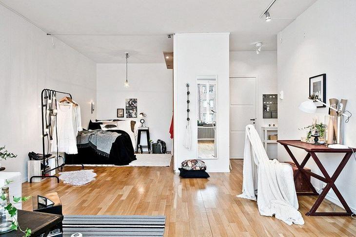 Квартира студия — 69 фото-идей