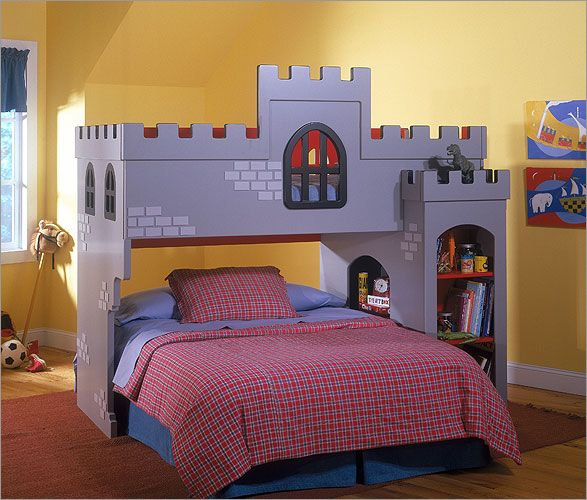 I Think I Could Fake This With An Ikea Kura Bed Hack Some Plywood