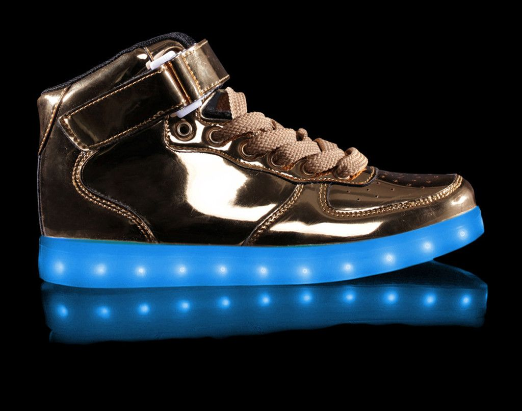 LED Shoes | Metallic Super Nova HoverKicks – hoverkicks
