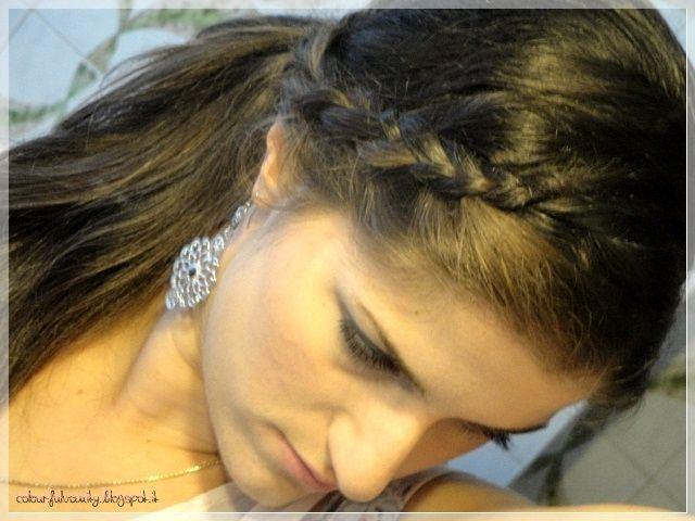 Braided ponytail... An always fav