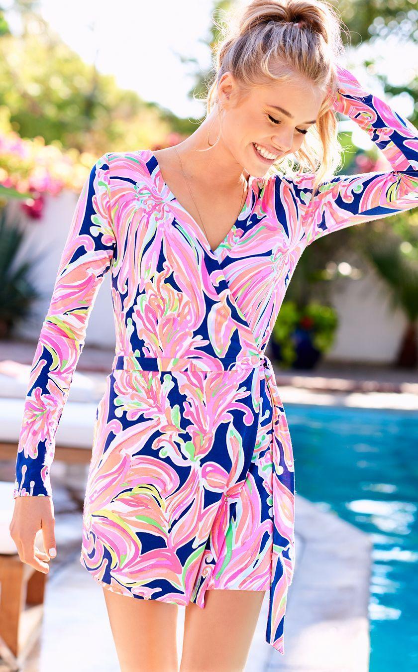 3387e49f2814b7 Tiki Wrap Romper   fashion 2017   Rompers, Romper dress, Fashion