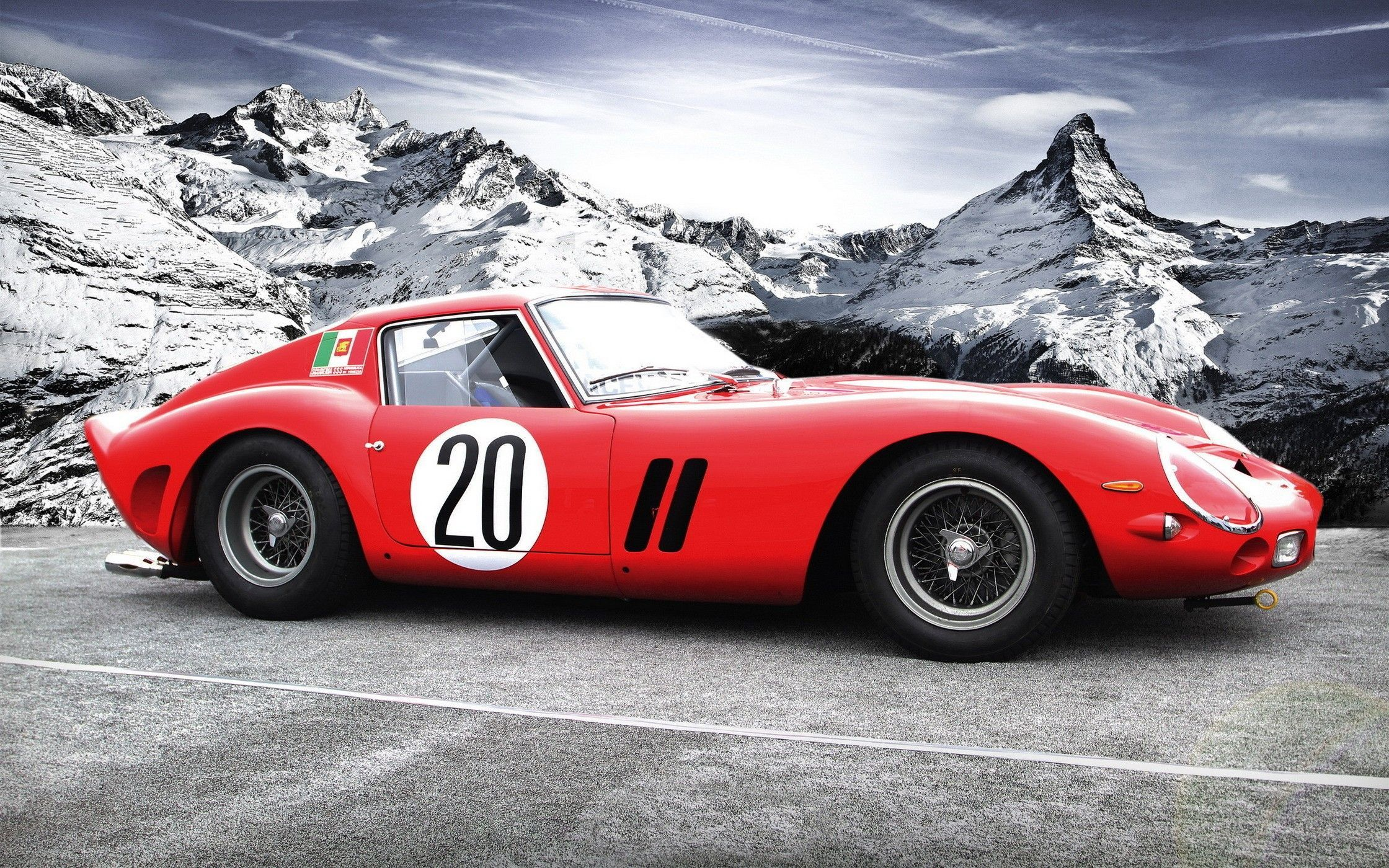 Classic ferrari on the snow wallpaper 569 wallpaper ferrari 250 gto ferrari 250 gto is among the most appealing sports cars of all the time that became the worlds most expensive car last year when its vanachro Image collections