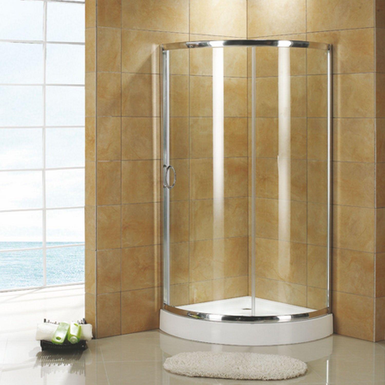 36 X 36 Ferguson Corner Shower Enclosure With Tray Bathroom