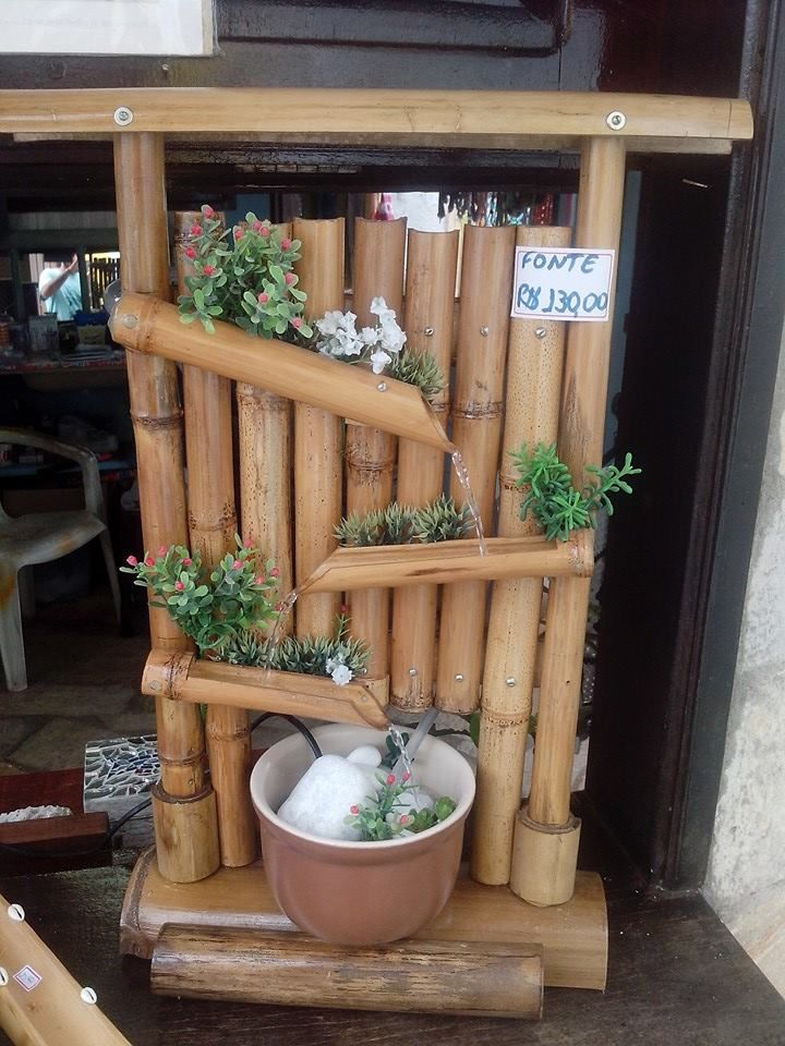 Fuente De Bambu Outside In 2018 Pinterest