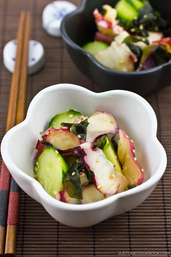 Octopus Salad (Tako Su) たこ酢   Easy Japanese Recipes at JustOneCookbook.com