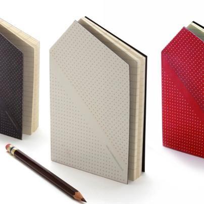 www.archisnack.com  Hankie Pocketbook  #design. Hvem siger notesbøger absolut skal være firkantede?!