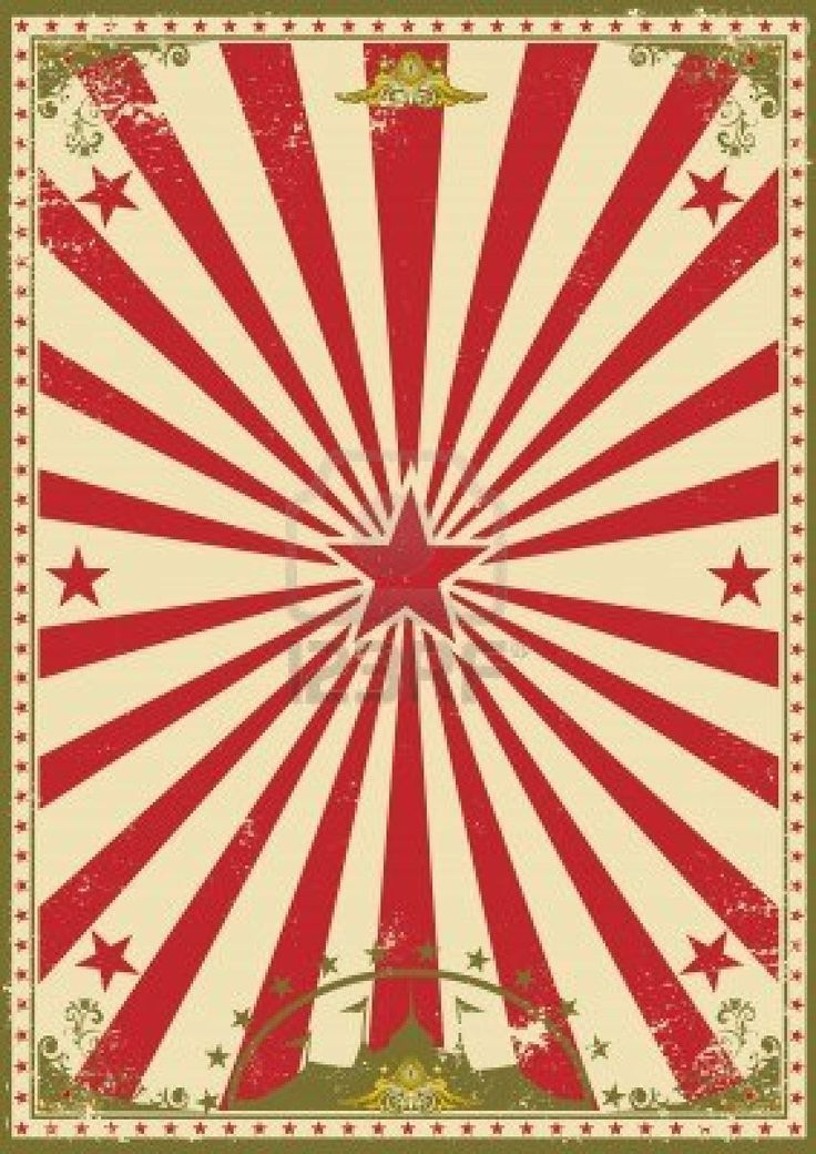Stock Vector In 2020 Vintage Circus Posters Circus Background Vintage Posters