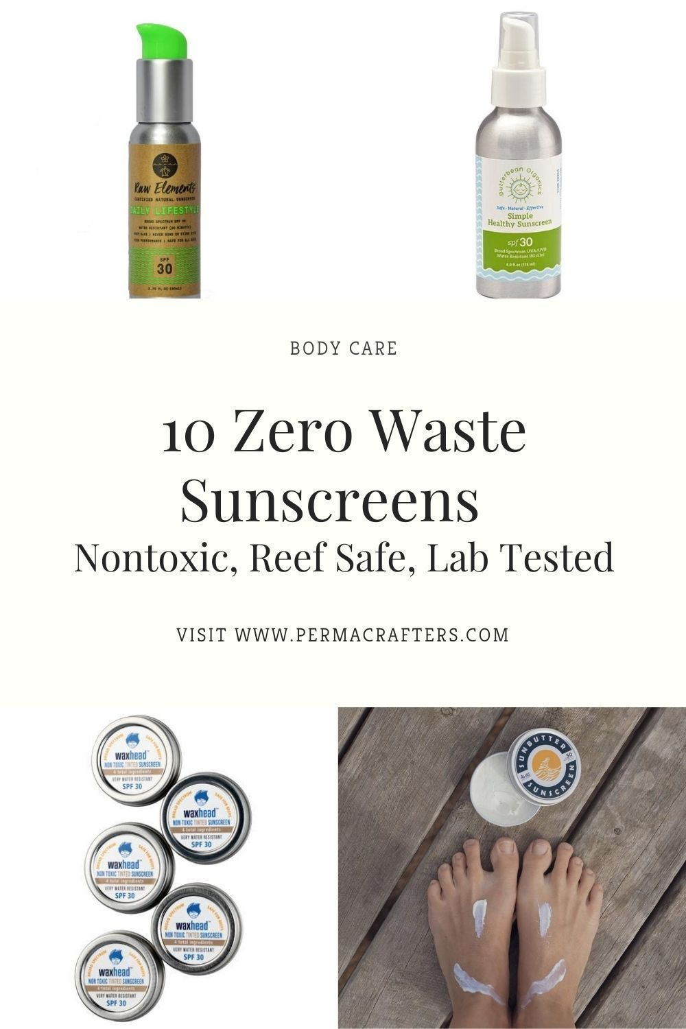 10 Zero Waste Sunscreens Nontoxic, Reef Safe, Lab Tested