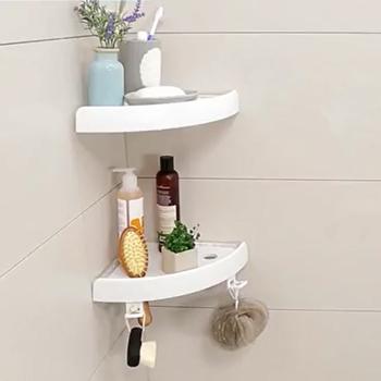 Bathroom Shower Caddy With Magic Plastic Shower Shelf Holder View