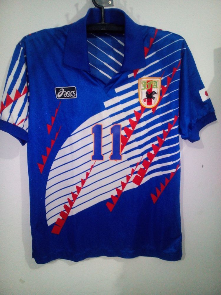 89a691848f4 VTG JAPAN JFA ASIC SOCCER JERSEY SHIRT NATION FOOTBALL MEN JASPO O  Asic   Japan