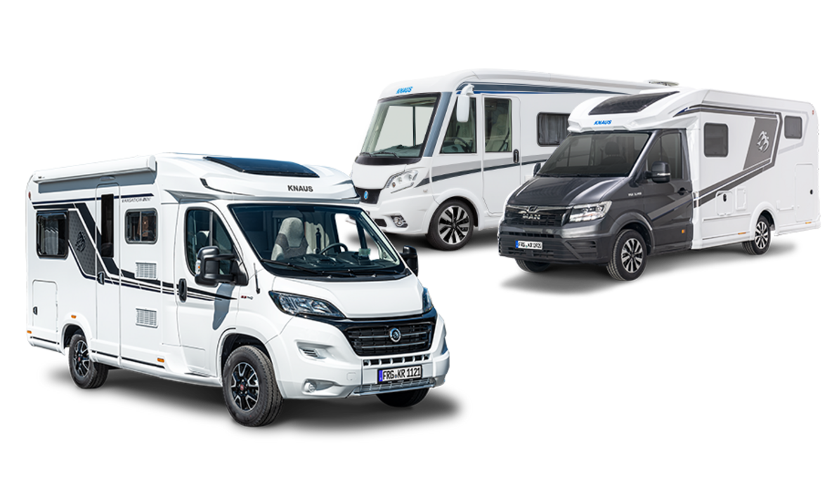 KNAUS Wohnmobile & Reisemobile - teilintegriert, vollintegriert