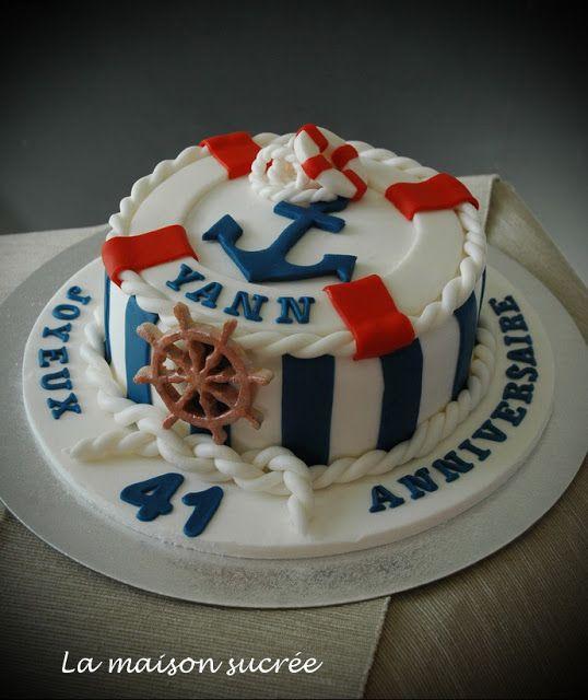 la maison sucrée: un gâteau marin … | pinteres…