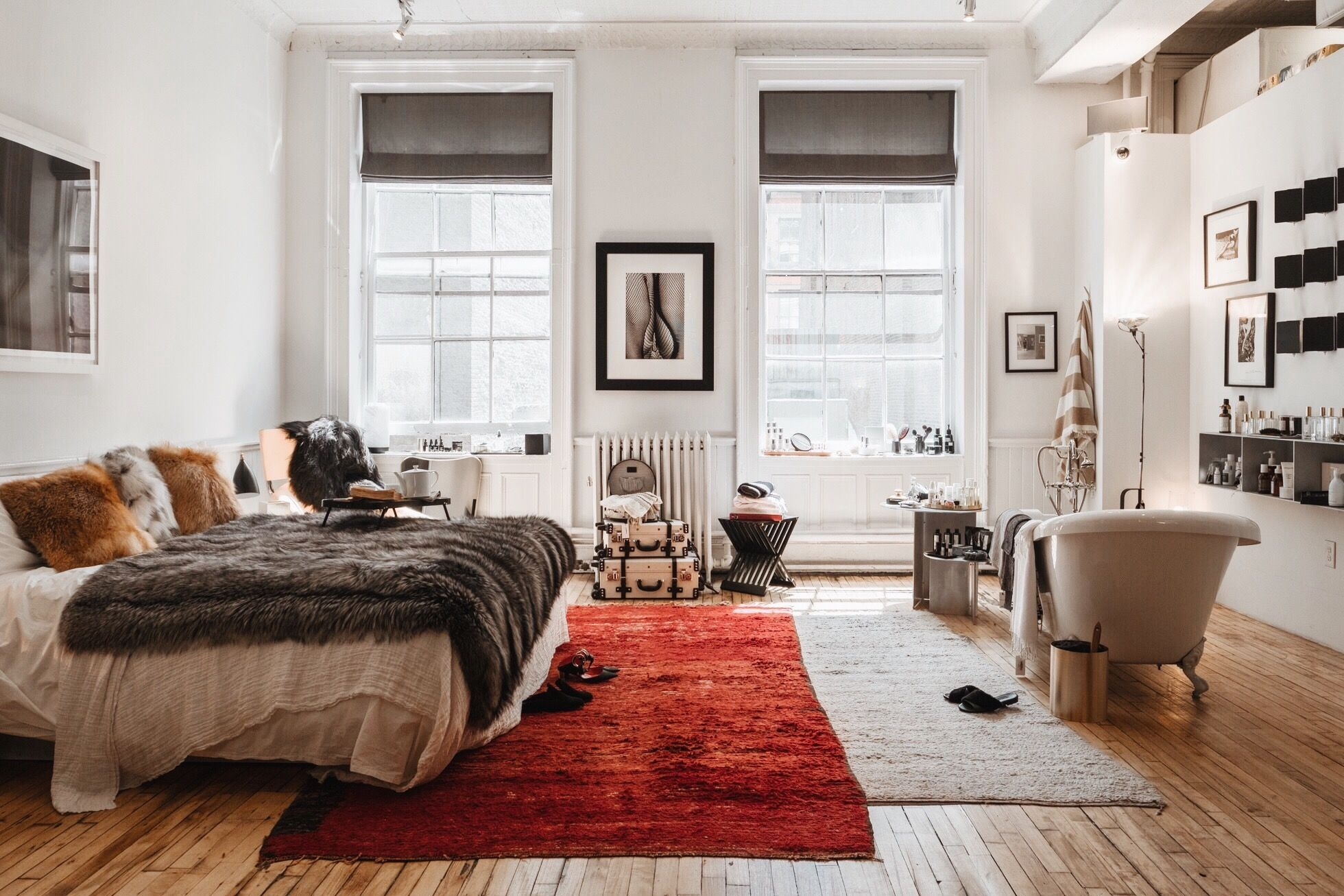 The Apartment By The Line New York Apartment Bedroom Decor Apartment Interior Living Room Decor Apartment