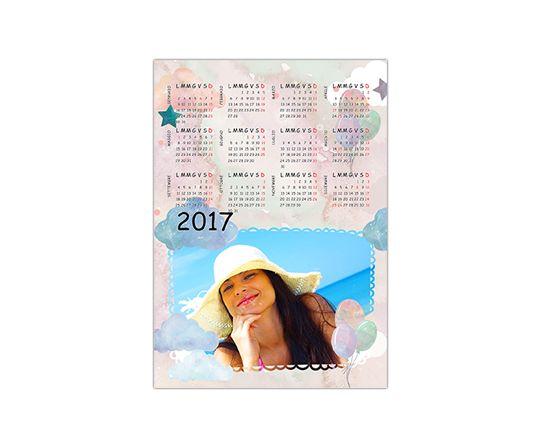 Calendario Magnetico Personalizzato A4