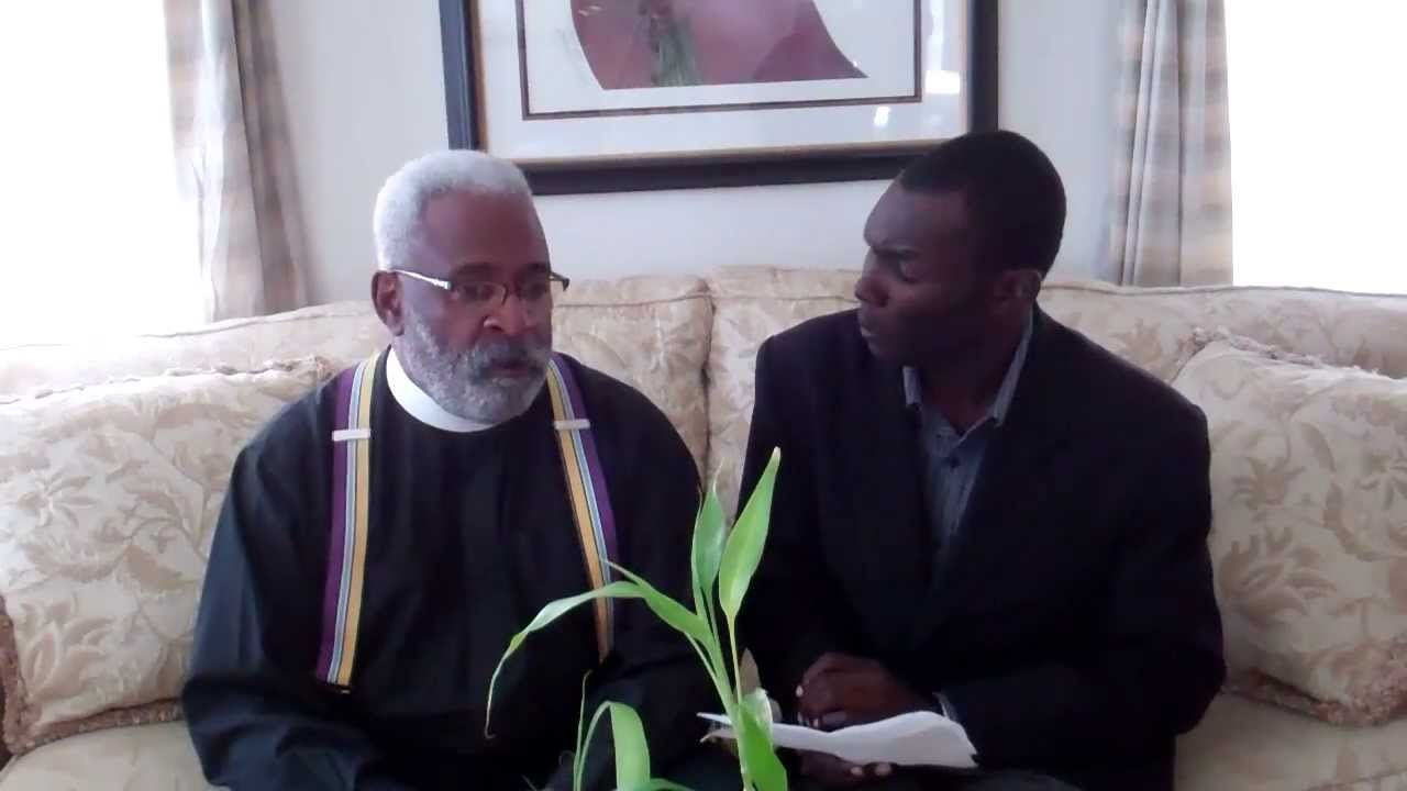 Charleston, Rev. Jimmy Gallant talks to me about why he