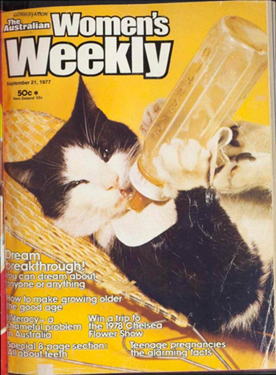 Retro Australian Women S Weekly Covers Australian Vintage Advertisement Weird And Wonderful