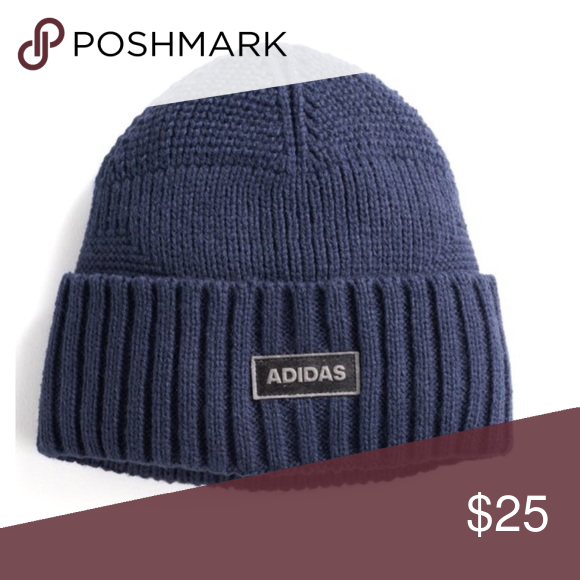 Men s adidas pine knot beanie Warm up your sense of style with this men s adidas  beanie. PRODUCT FEATURES Climawarm fabric traps in heat to keep you warm ... 790ee9d8154