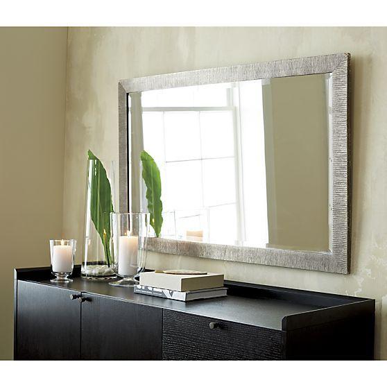 Silver Birch Rectangular Wall Mirror Mirror Wall Bedroom Mirror Wall Living Room Mirror Wall