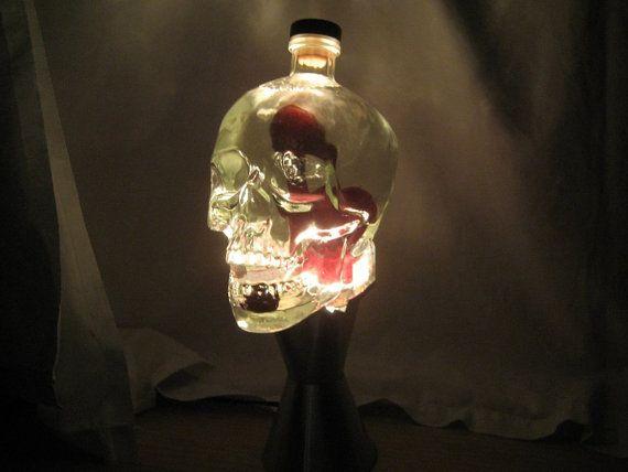 175 Liter Crystal Head Vodka Skull Lava Light Lamp by johnsylte ...
