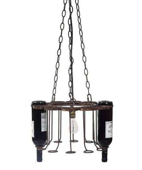 Wine rack chandelier zulily for the home pinterest wine rack wine rack chandelier zulily aloadofball Images