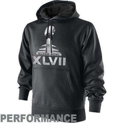 Nike Super Bowl XLVII KO Pullover Hoodie