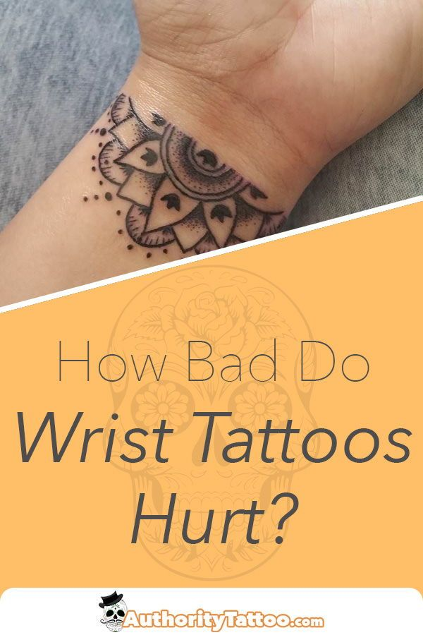 Out Of All The Places On The Body Getting A Tattoo On The Wrist Can