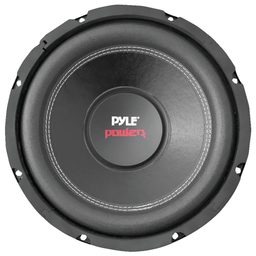 6 Inch Non-Pressed Paper Cone Black... Car Vehicle Subwoofer Audio Speaker