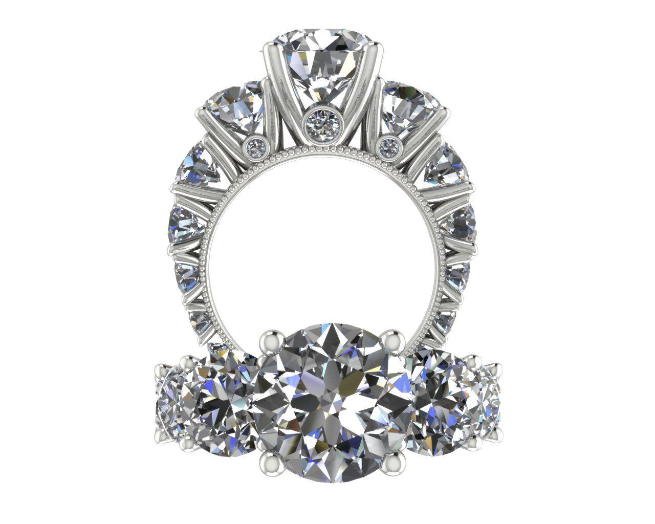 Million dollar ring j david jewelry jewelry rings