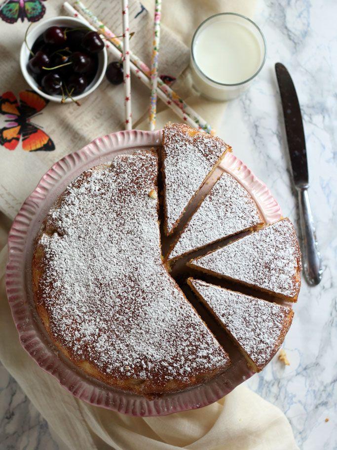 Torta morbida alle ciliegie - La cucina dello stivale