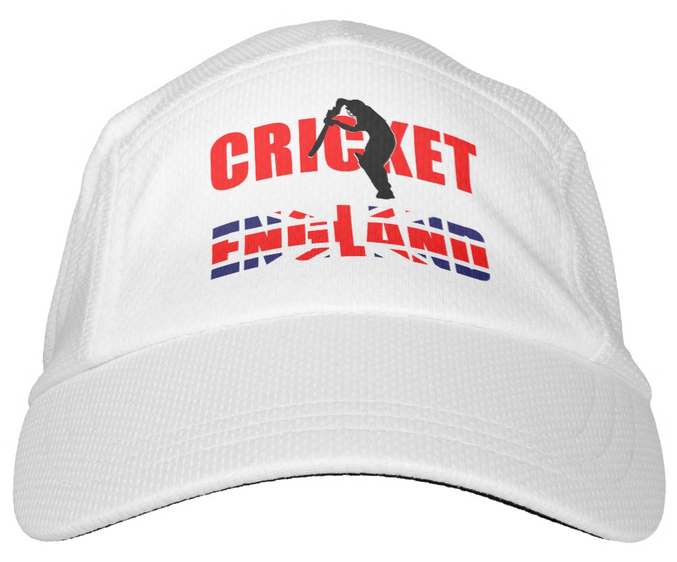 English Cricket Performance Hat Zazzle Com Hats Cricket Performance
