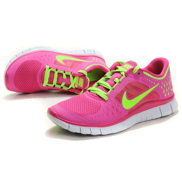 damen nike free run 3 rosa gr n g nstige nike free run. Black Bedroom Furniture Sets. Home Design Ideas
