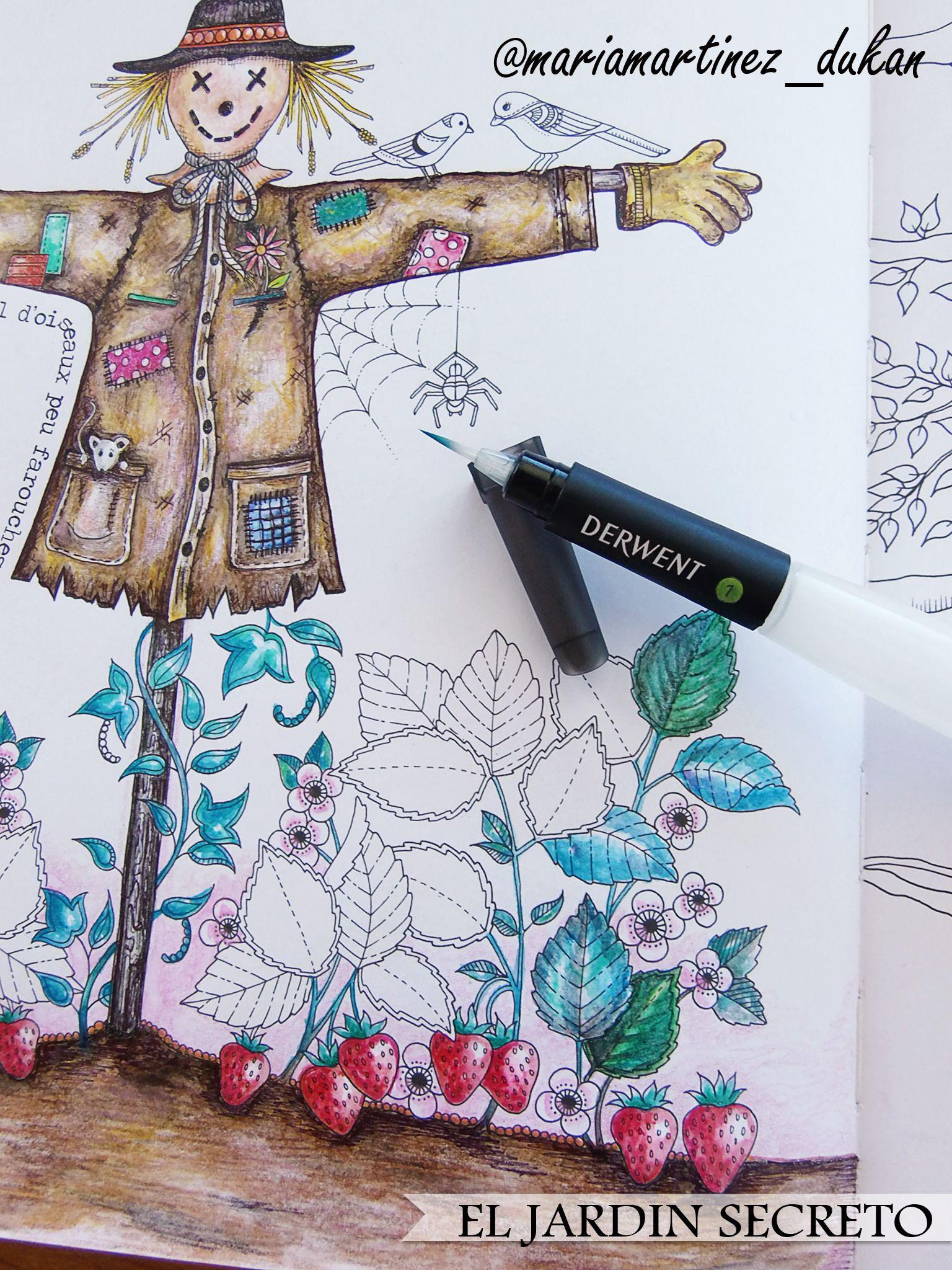 Jardin Secreto Johanna Basford Pincel Derwent Johanna Basford Secret Garden Secret Garden Coloring Book Coloring Books